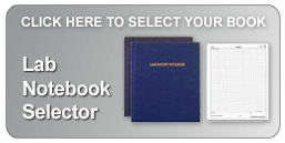 lab notebook selector helps you narrow your choice quickly