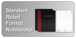 professional bound ruled notebooks