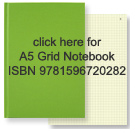 link to green A5 grid notebook isbn 978159672082